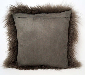 Tibetan Throw Pillow - Pewter