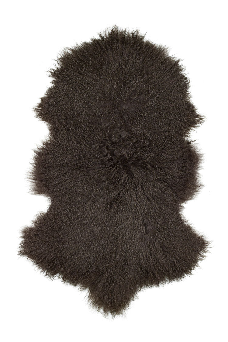 Tibetan Sheep Pelt - Pewter