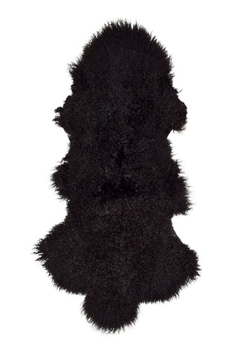 Tibetan Sheep Pelt - Chocolate