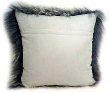 Load image into Gallery viewer, Tibetan Sheep Throw Pillow - Grey Tipped