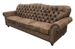 Remington 10 Foot Tufted Sofa
