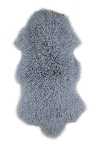 Tibetan Sheep Pelt - Ash Grey
