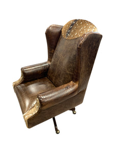 Axis Rustic Western Executive Chair