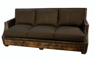 """Adrian"" Sofa - Chocolate"