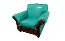 Load image into Gallery viewer, Albuquerque Turquoise Club Chair