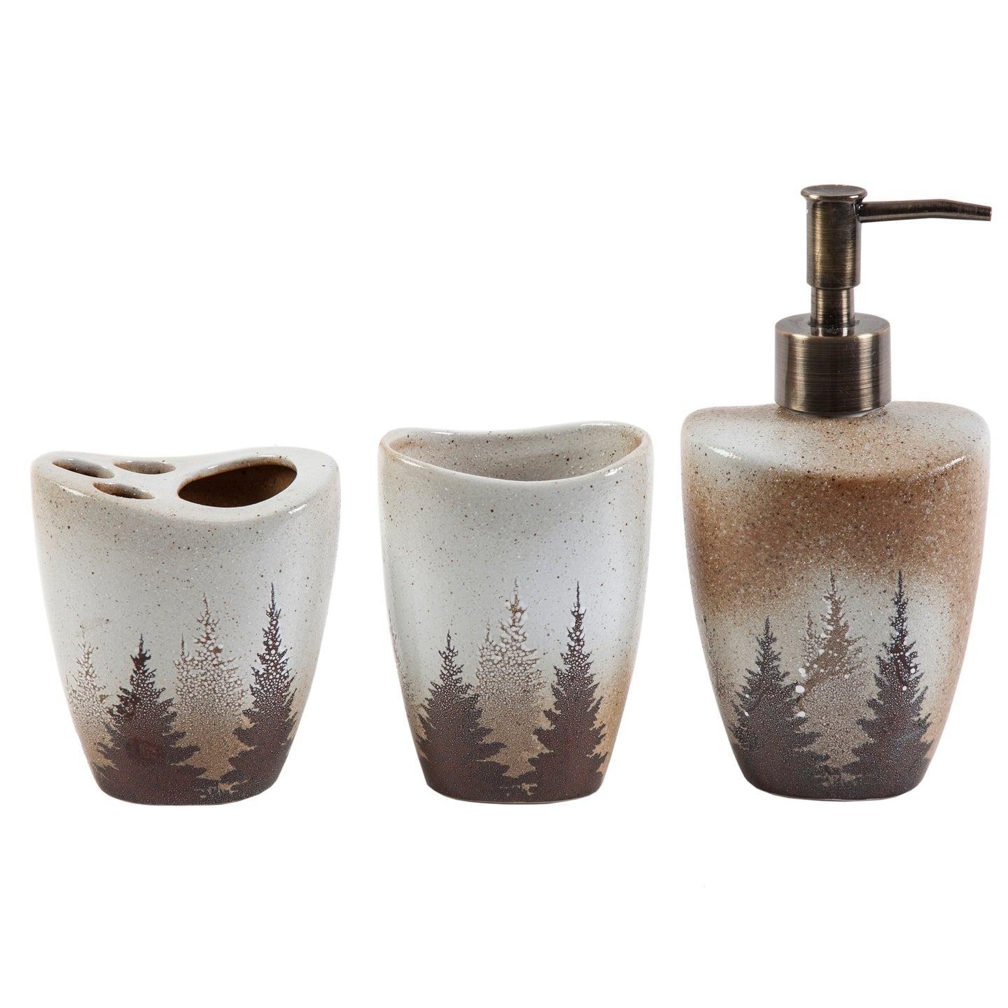 Clearwater Pines 3 PCS Bath Accessory Set