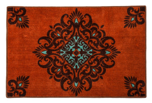 Medallion Bath, Kitchen, or Accent Rug