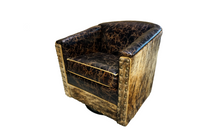 Load image into Gallery viewer, Cabin Fever Rustic Lodge Swivel Glider