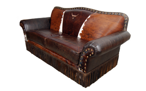"""Cattle Baron"" 2 Cushion Sofa"
