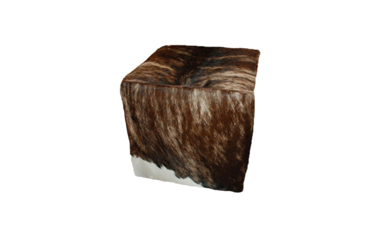 Cowhide Cube Dark Exotic