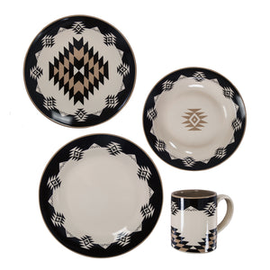 Chalet 16 PCS Ceramic Dinnerware Collection