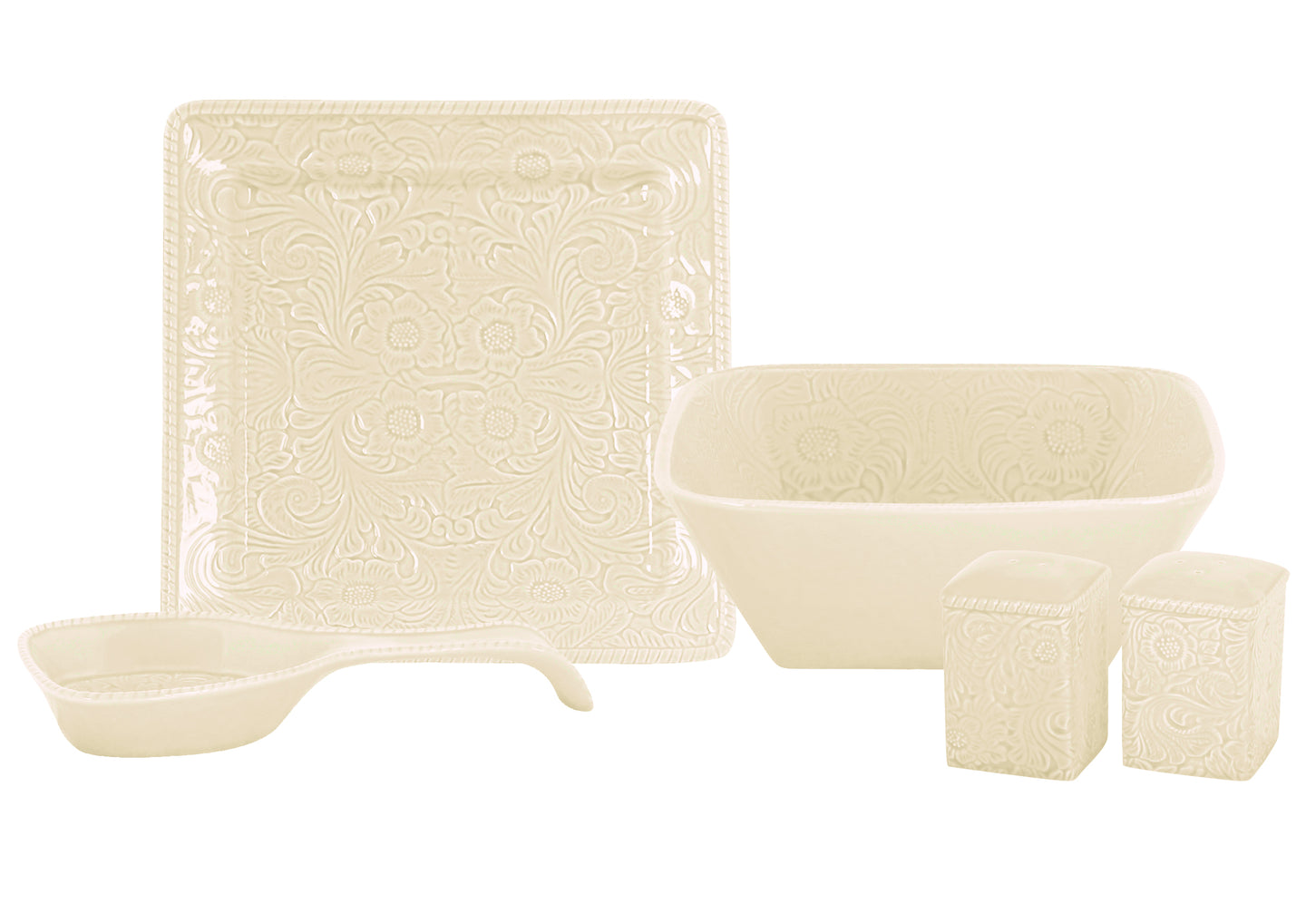 Savannah 5 PCS Serving Dinnerware Collection