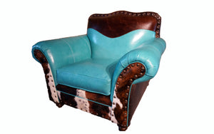 Durango Western Leather Club Chair