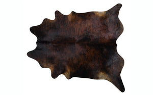 Brazilian Cowhide - Exotic Dark Brindle
