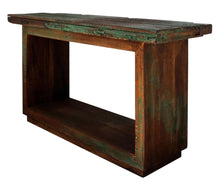 Load image into Gallery viewer, Reclaimed Wood Sofa Table