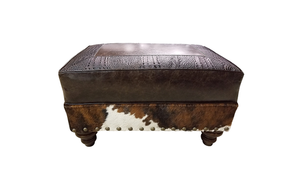"""Maverick II"" Medium Ottoman"