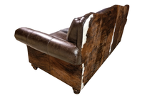 Load image into Gallery viewer, Maverick II 3 Cushion Western Cowhide Sofa