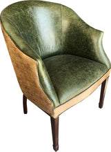 Load image into Gallery viewer, Aztec Jade Contemporary Cowhide Lounge Chair