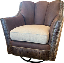 Load image into Gallery viewer, Davenport Ranch Swivel Glider