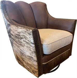 Davenport Ranch Swivel Glider