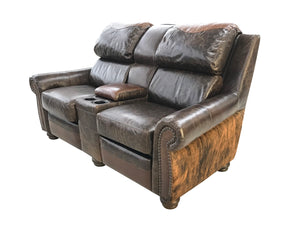 Buffalo Rustic Lodge Double Recliner