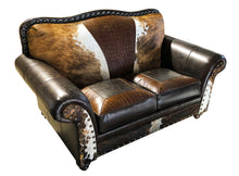 Load image into Gallery viewer, Ranch Foreman 2 Cushion Western Love Seat