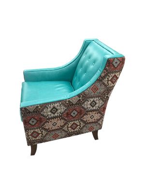 Albuquerque Turquoise Canyon Lounge Chair