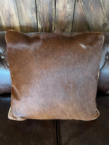 Cowhide Pillow #11