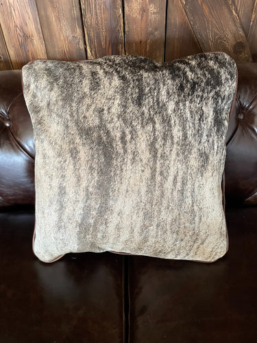 Cowhide Pillow #14