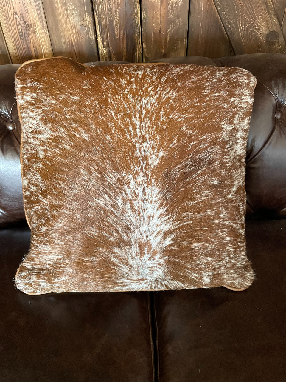 Cowhide Pillow #15