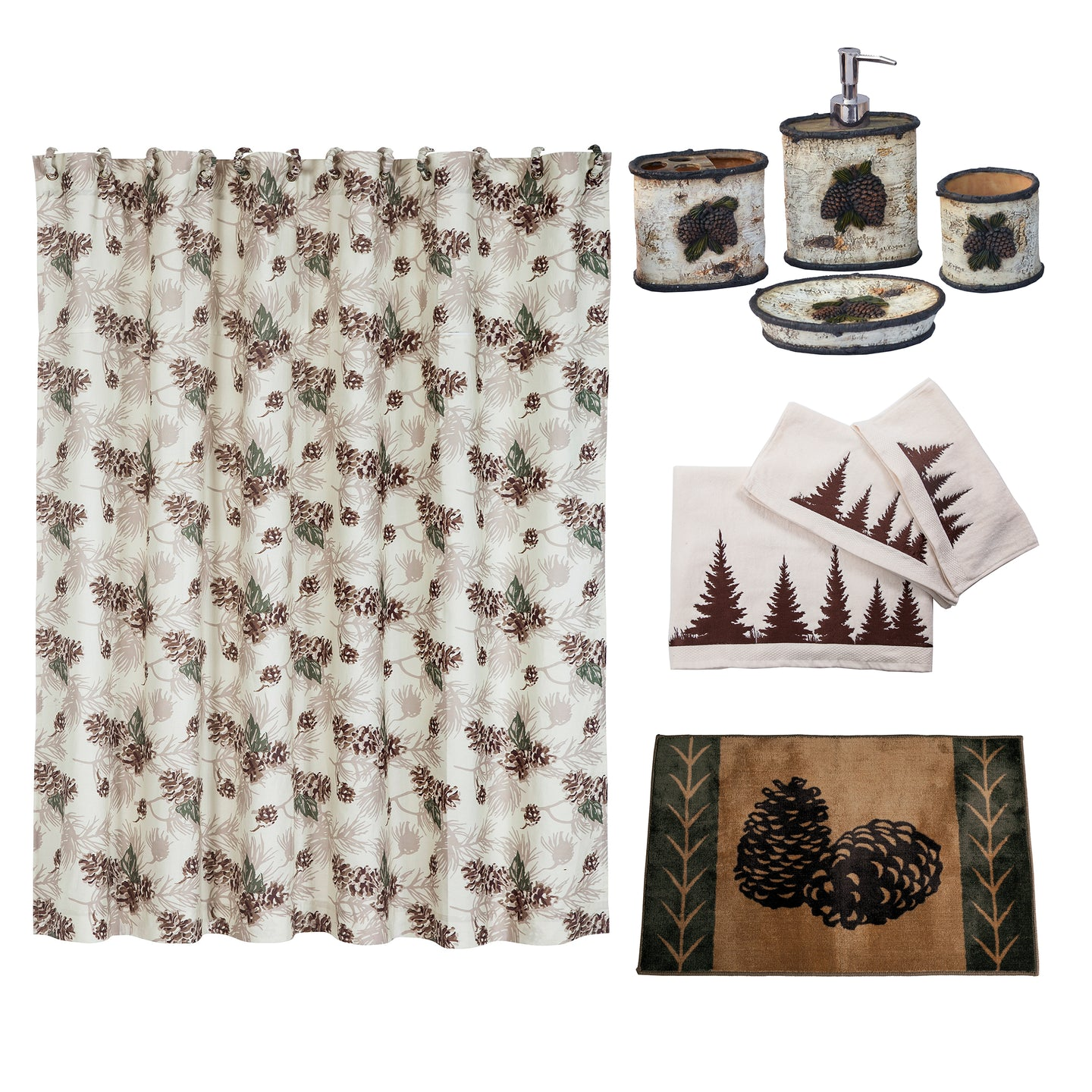 Forest Pine Bathroom Collection