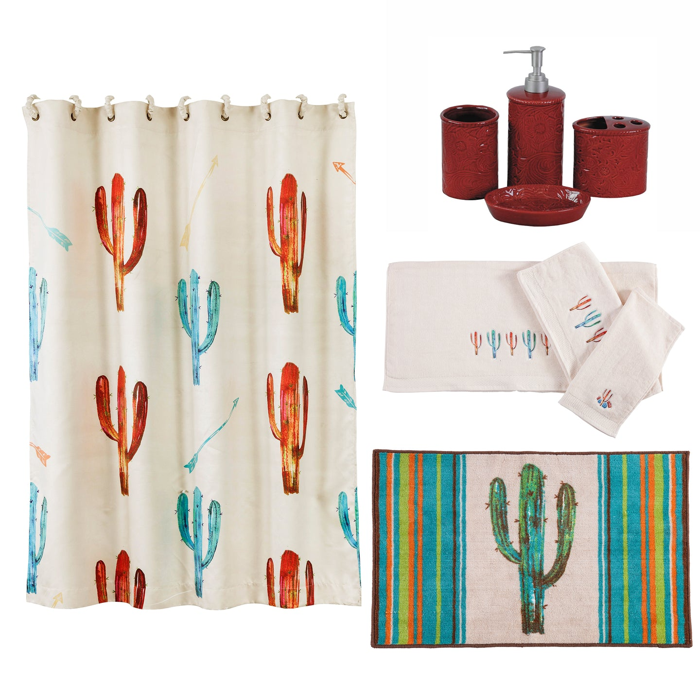 Cactus Bathroom Collection