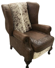Load image into Gallery viewer, Longhorn Wingback Recliner