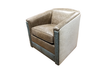 Load image into Gallery viewer, contemporary swivel glider