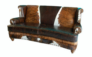 """Luckenback"" Curved Front Sofa"