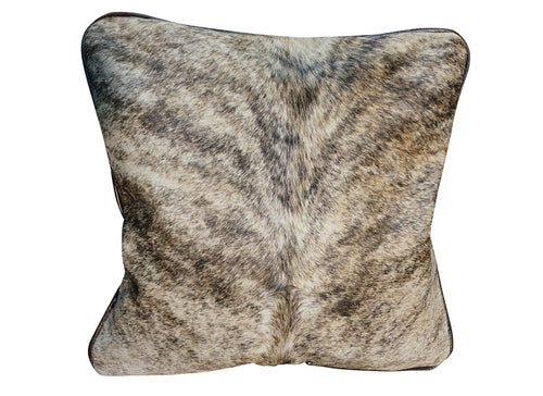 Cowhide Square Pillow - Exotic