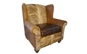 """Mountain Home"" Oversized Wingback"