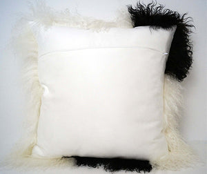 Tibetan Throw Pillow - Natural
