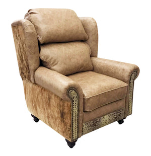 Palomino Western Leather Recliner