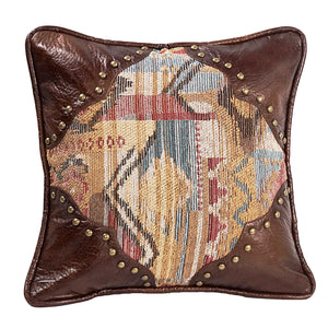 Ruidoso Square Pillow w/Scalloped Corners