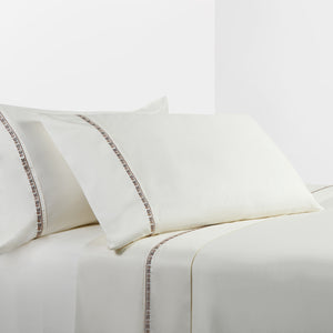 350 Thread Count Cream Sheet Set