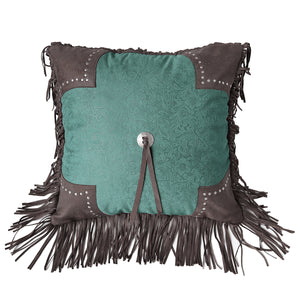 Cheyenne Scalloped Edge Pillow
