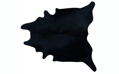 Brazilian Cowhide - Dyed Black