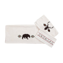 Load image into Gallery viewer, Aztec Bear 3 PCS Towel Set