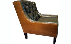 Victoria Tufted Lounge Chair