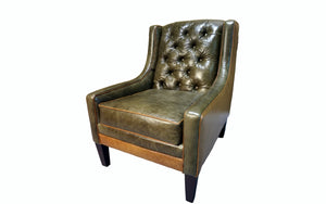 """Victoria"" Tufted Lounge Chair"