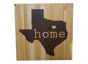 HOME Texas Distressed Look Wall Panel