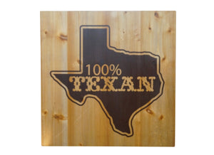 100% TEXAN Texas Distressed Look Wall Panel