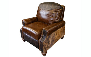 Western Royalty Leather Recliner