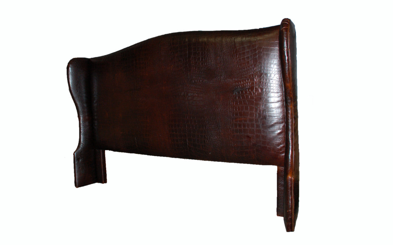 Wingback King Headboard